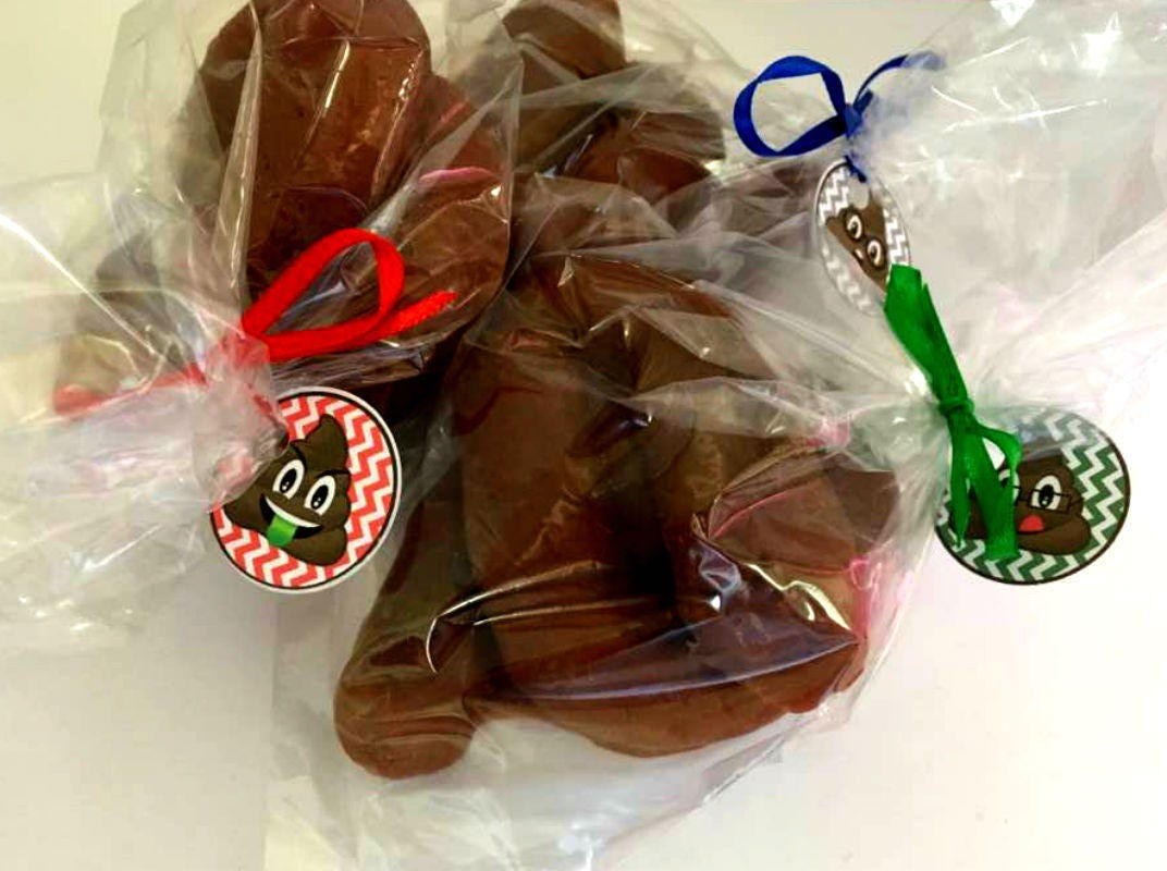 Poop Soap - Gag Gift - Prank - Gift for Man - White Elephant Gift - FREE U.S. SHIPPING - Dad - Brother Gift - You Choose Scent