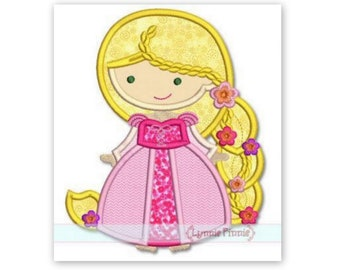 Inspired by Rapunzel Iron on Patch Applique