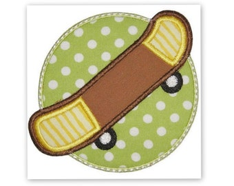 Skateboard Iron On Patch Applique Machine Embroidered Iron On Applique