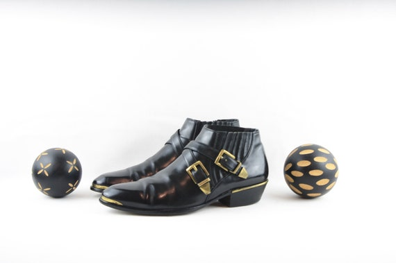 Vintage 80s Gianni Versace-Versace Boots-Size 9 Bo