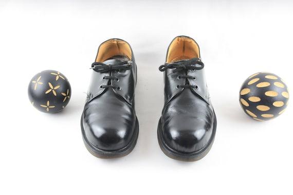 Size 11 DR. Marten Shoes-Steel Toe Doc Martens-Lac