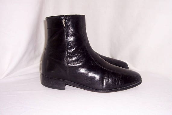 1980's ankle boots mens
