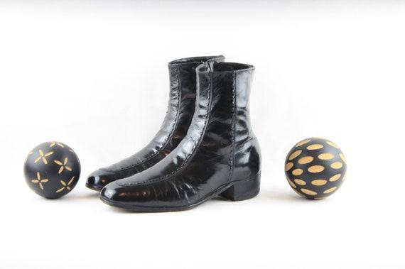 Vintage Boots-Size 8 Vintage Mens Boots-Vintage Me