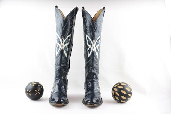 Vintage Women's Cowboy Boots ~ Size 7 Women's Boot