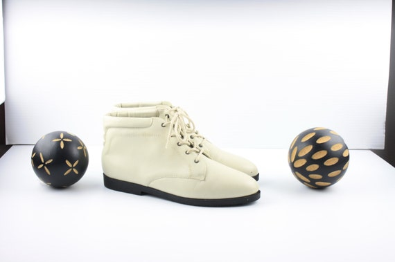 Size 8 Danexx Boots-Vintage Women's Boots-1990's O