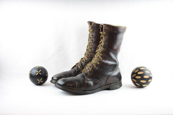 Size 11.5 Vintage Boots-Vintage Work Boots-Vintage