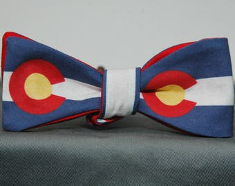 Giant Colorado State Flag  Bow tie