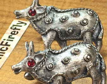 Antique Pewter Cufflinks Bull Cufflinks Men's Vintage Cufflinks Steampunk Cufflinks Men's Cufflinks Antique Cufflinks Father's Day Gifts