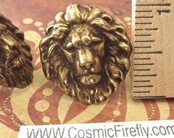 lion Cufflinks with a gift box Vintage Style Cufflinks Men/'s cufflinks