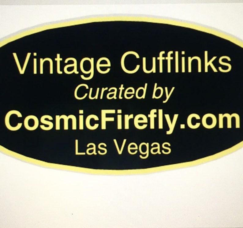 Ladybug Cufflinks And Lady Bug Tie Tack Steampunk Men/'s Cufflinks Made In USA SWANK Cufflinks Mid Century Vintage Bug Cufflinks