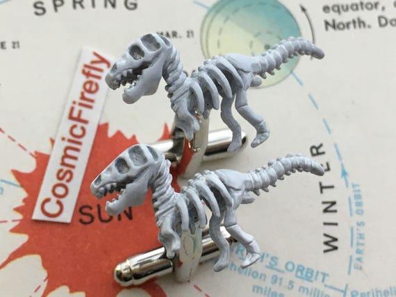Jurassic Dinosaur Cufflinks Men's Cufflinks Dinosa