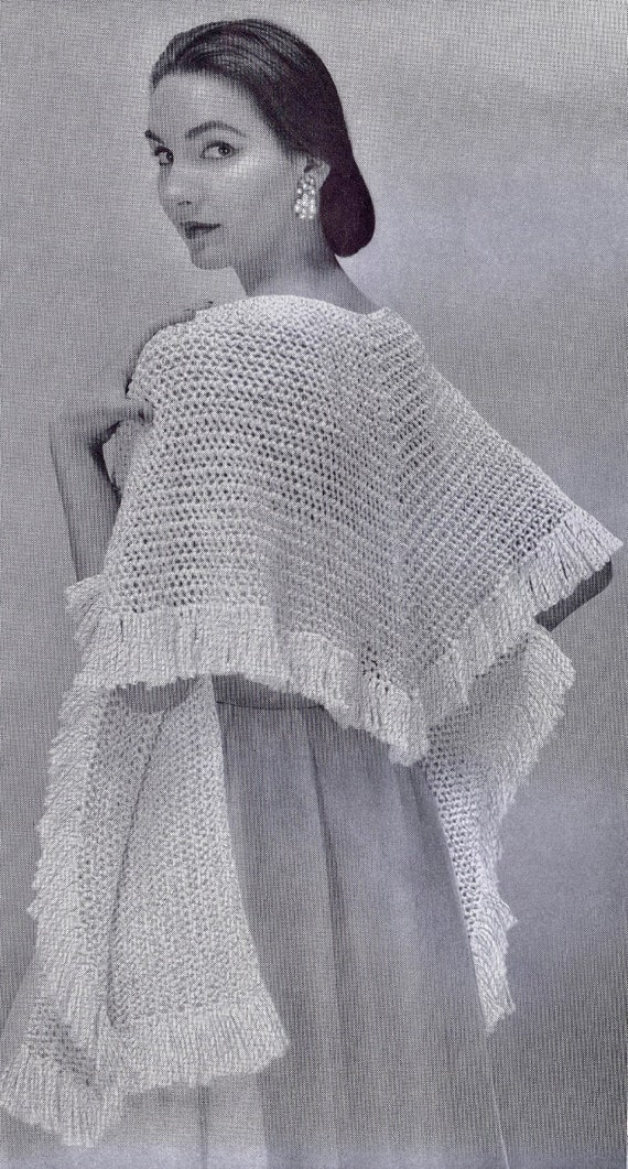 948fecac15 Hairpin Maltese Lace Crochet Knitting Patterns Stoles Capes