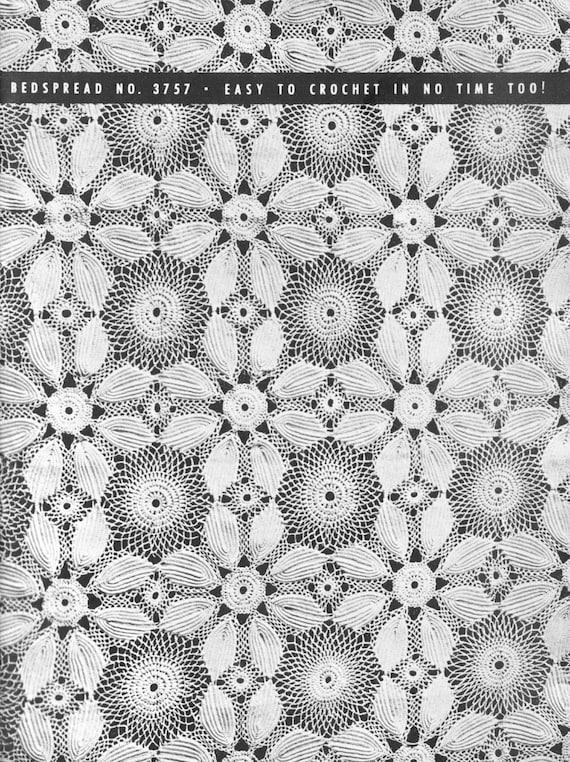 Vintage Crochet Lace Patterns Motifs Water Lily Irish Crochet Etsy Unique Irish Patterns