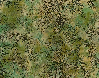Forest Trails - Willow - Artisan Batiks Robert Kaufman - Sold by the half yard - Shipped as continuous yardage