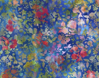 Haven Shadows - Multi Floral Print - In The Beginning Fabrics   - Sold by the 1/2 yard - Shipped as Continuous Yardage