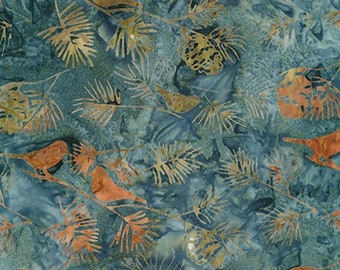 Forest Trails - Slate - Artisan Batiks Robert Kaufman - Sold by the half yard - Shipped as continuous yardage