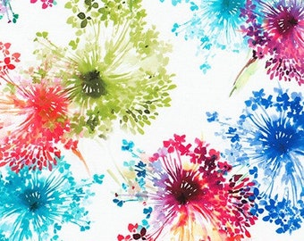 Wishwell: Bright Side White by Vanessa Lillrose & Linda Fitch - 1/2 Yard