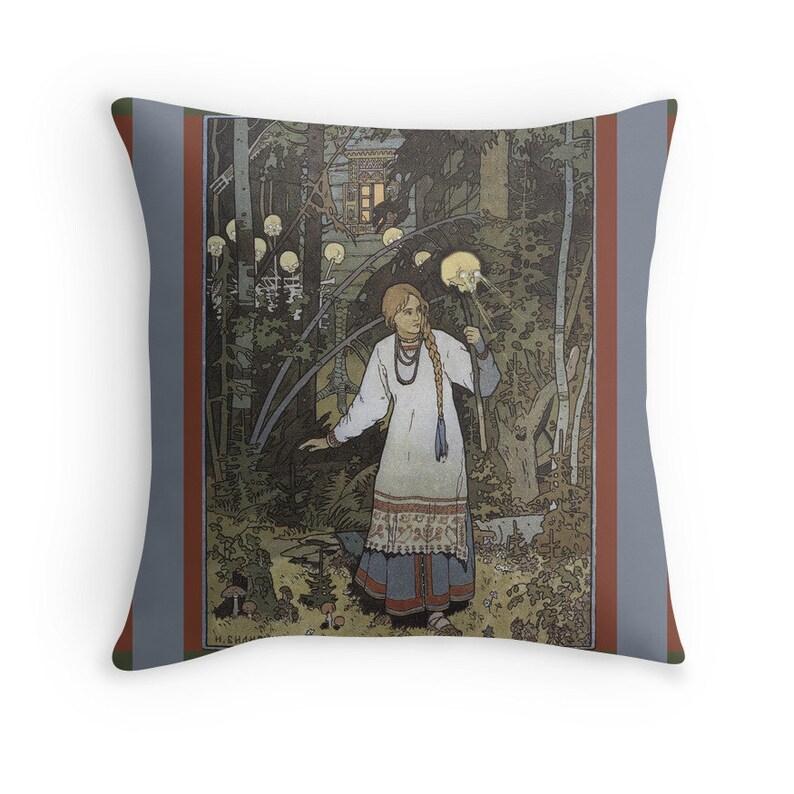 Vasilisa the Beautiful  Tales from Baba Yaga Art Nouveau image 0