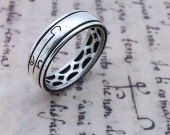 Invisibility Ring Occult Magic Ring Grimoire Witch Jewelry Occult Symbols Art Conjuration Witchcraft Ring Silver Ring Wiccan Jewelry Ritual
