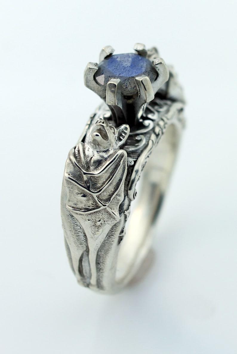 Image 0: Gothic Style Wedding Rings Etsy At Reisefeber.org