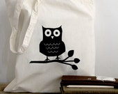 Quote Tote - Wise Old Owl cotton tote bag