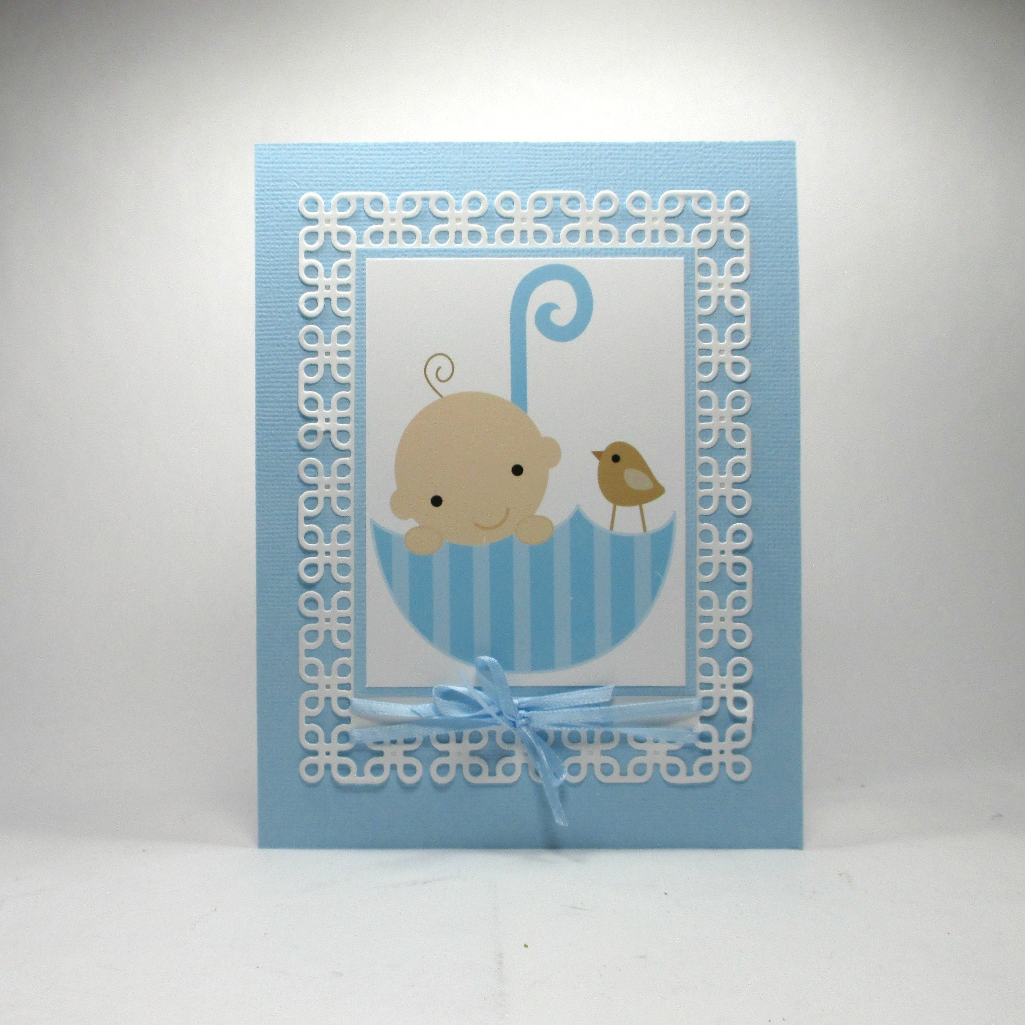 Welcome Baby Card Baby Boy Congratulations Baby Shower