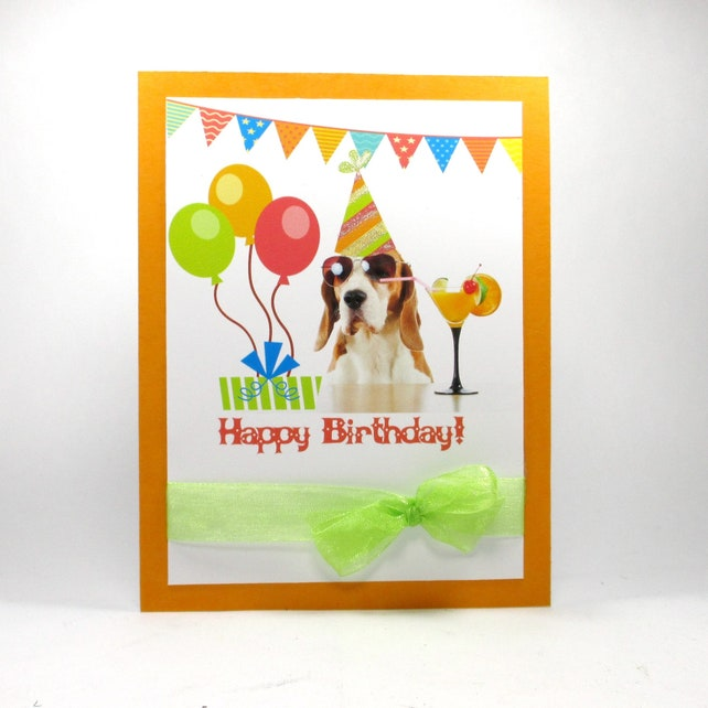 Birthday Card For Her Happy Cards Dog Funny Cute
