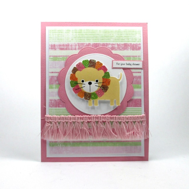 It S A Girl Card Baby Girl Card Welcome Baby Girl Baby Shower