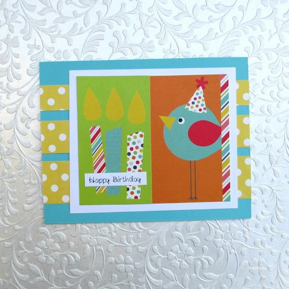Birthday Card For Her Bird Tweet Birthday Girl Funny Etsy