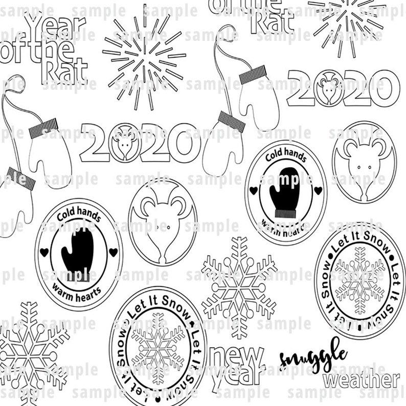 Winter SVGs image 0