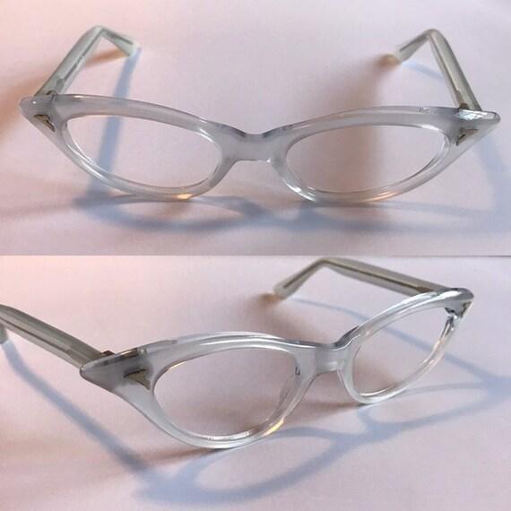 8585218720 Vintage 1950s Cateye Glasses Extreme Cateye Eyeglasses in