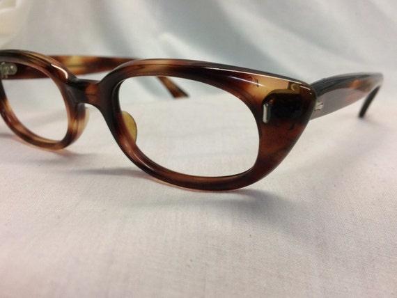 dfb5df5678a Tortoise Shell Eyeglasses Vintage 1960s Cateye Glasses New