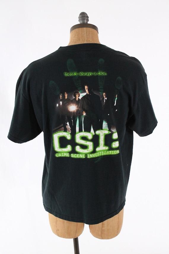 CSI CBS Broadcasting,inc   There\u2019s always a clue  Drama Series Vintage 00s Crime Scene Investigation Mystery Drama