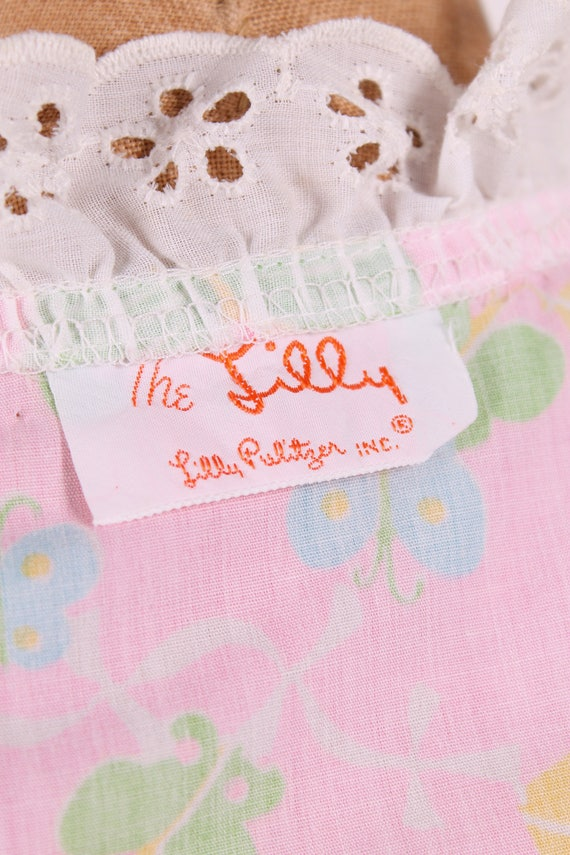 Lilly Pulitzer butterfly + kite novelty print wra… - image 5