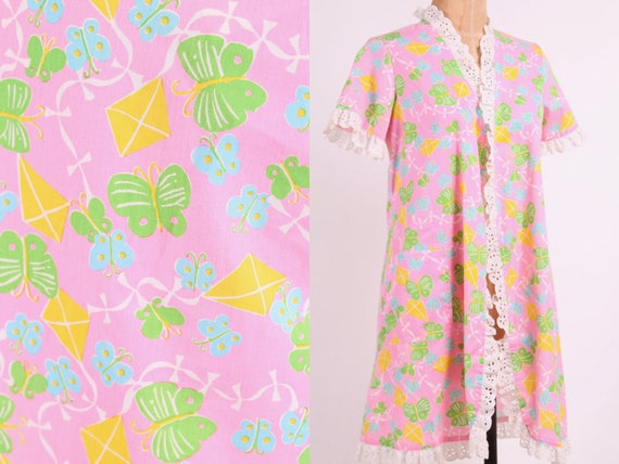Lilly Pulitzer butterfly + kite novelty print wrap