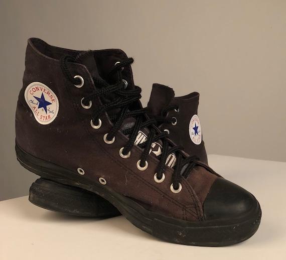 Converse Mens All Star Corduroy High Trainers Brown sz 9 VTG