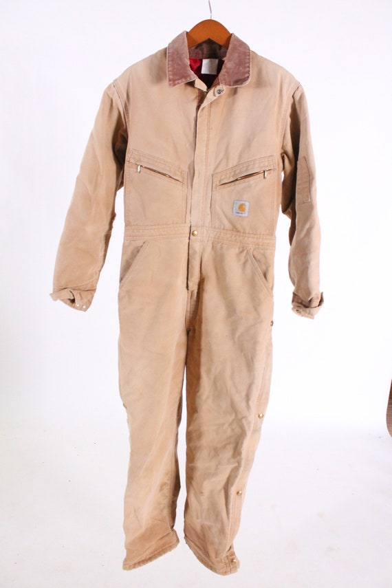 Vtg Made in USA Union Rare Coat Construction Hunting Collectible Vintage Carhartt Coverall Work Jacket Mens XL