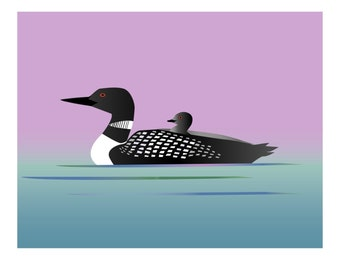 Loon - Set of 8 Note Cards