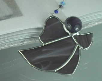 Little Angel Stained Glass Suncatcher Window Hanging Gift and Christmas Ornament