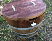 Napa Wine Barrel Ice Chest