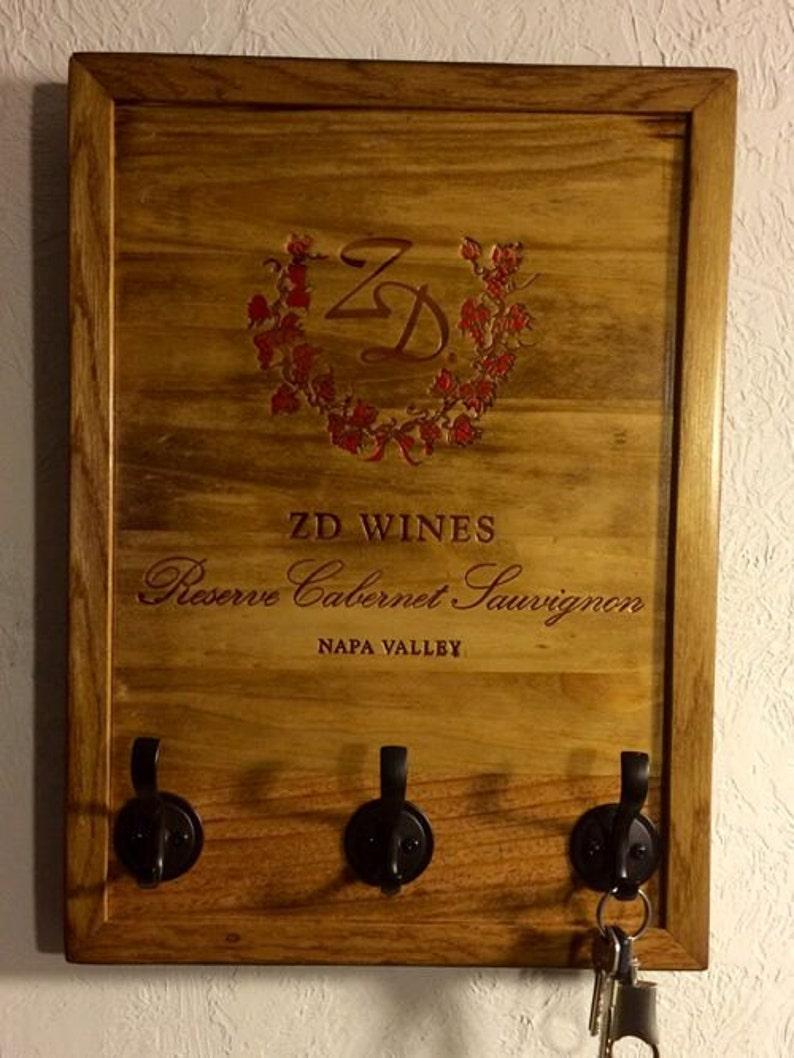 Zd Wine Crate Key Hook
