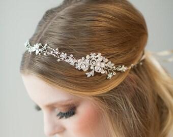 Wedding Hair Vine,  Bridal Headpiece, Bridal Hairpiece,  Gold Hair Vine, Bridal Hair Vine, Wedding Headpiece