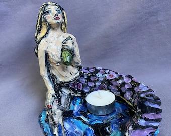 Mermaid small sculpture