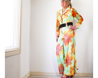 Dynasty made in the British Crown Colony of Hong Kong vintage jumpsuit - M -