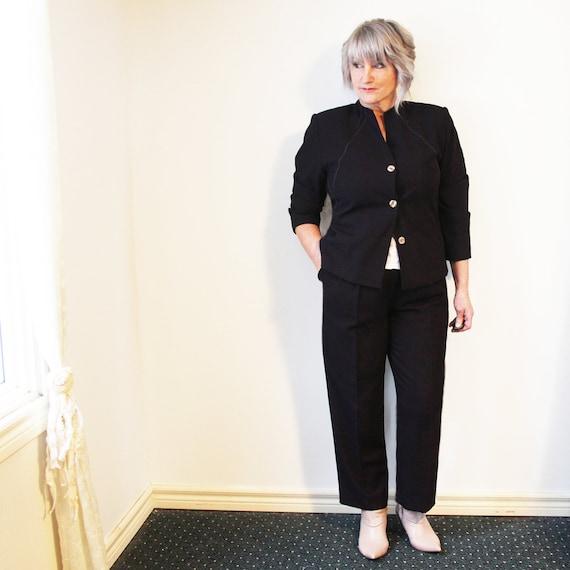 Bellessa vintage pant suit suit  - L -