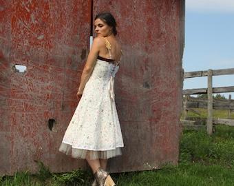 dance with me . tea dress - S -