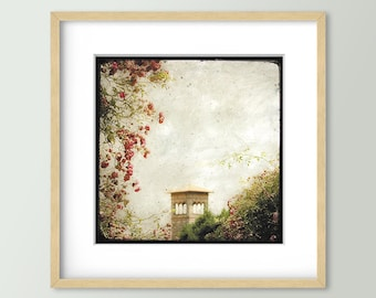 La Tour aux Rosiers - Rennes - Fine Art Print 30x30cm - Signed and numbered