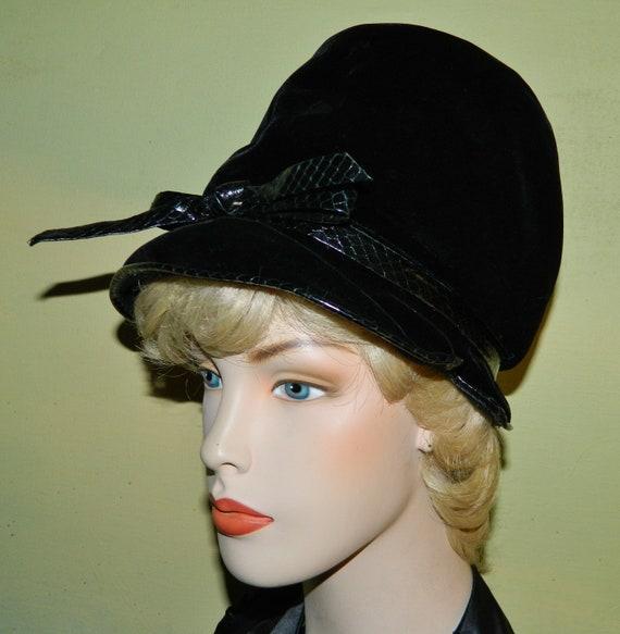 Vintage 60s Christian Dior Hat Chapeaux Paris New