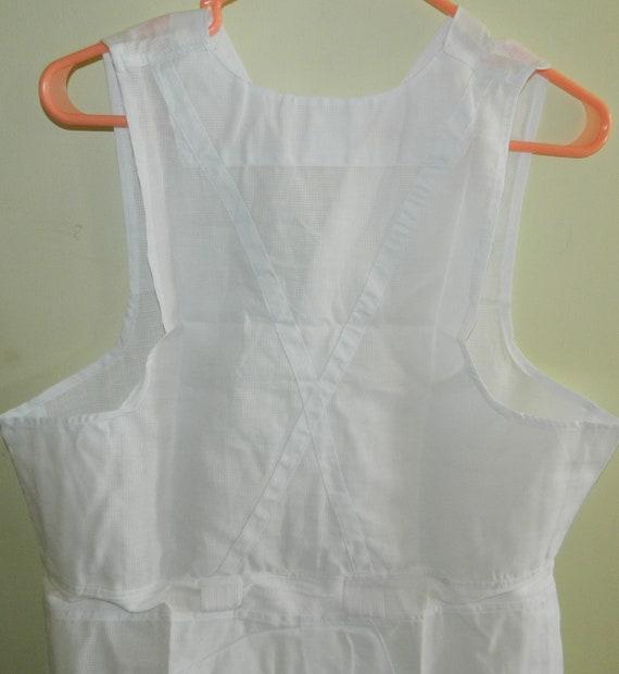 1950 s vintage des années 1950 Mens dans emballage taille 38 Mens 1950 Underwear blanc Unionsuit une seule pièce sous-vêtements coton Neuve d'époque 3cf407