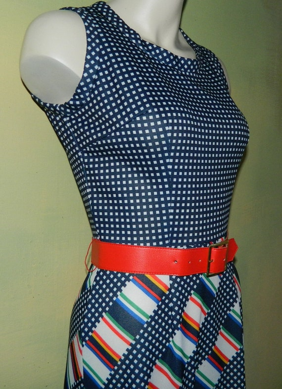 M 60s 70s Toni Todd Maxi Dress & Jacket Set Piece… - image 2